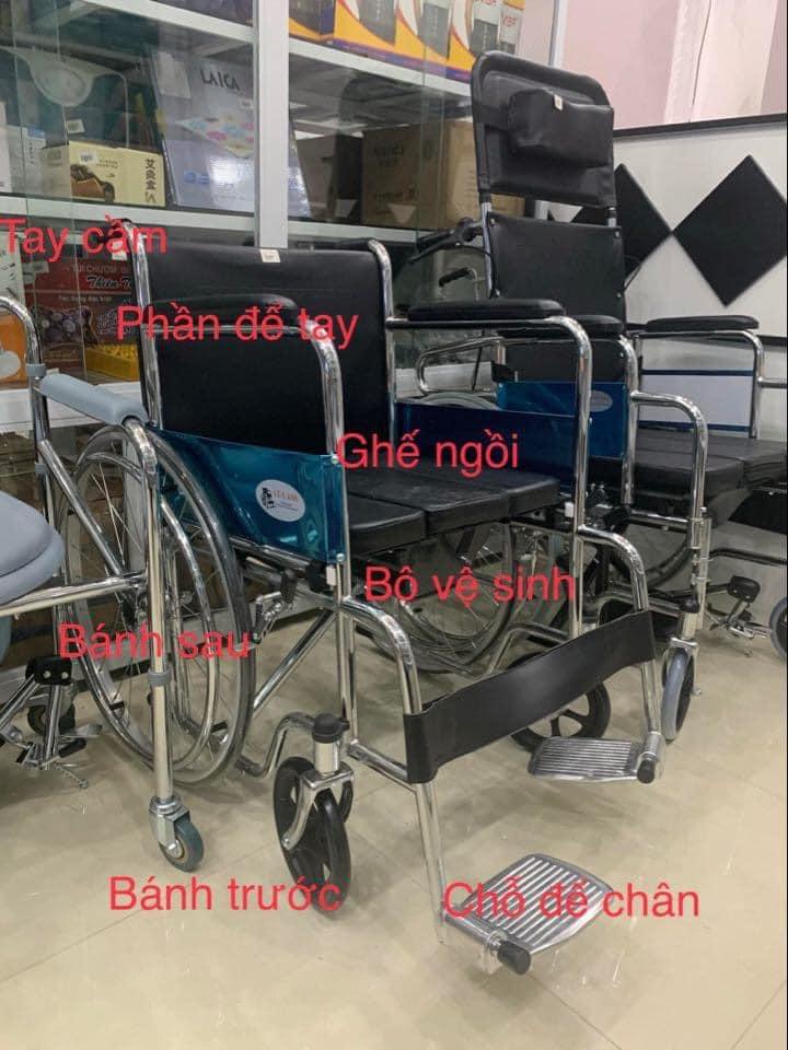 Chi tiết về thiết kế xe lăn Lucass X8