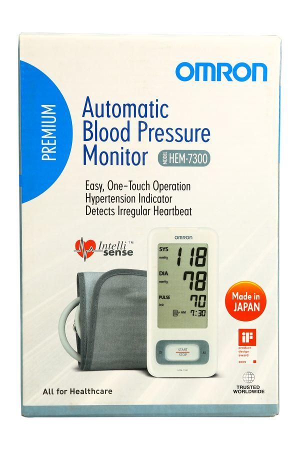 Máy đo huyết áp bắp tay Omron HEM-7300