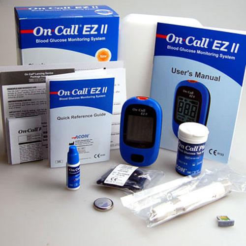May-do-tieu-duong-Oncall-EZ-II