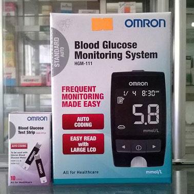 máy đo đường huyết omron hmg-111