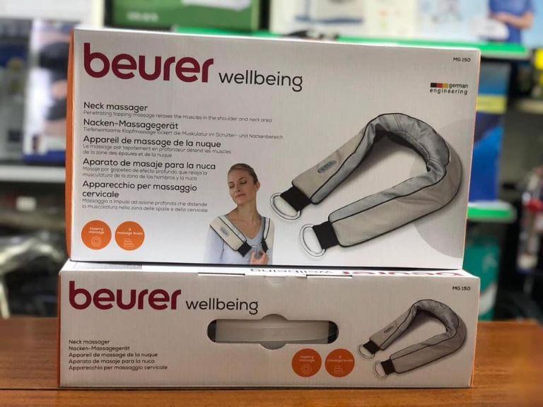 Đai massage trị đau vai, gáy, lưng Beurer MG150