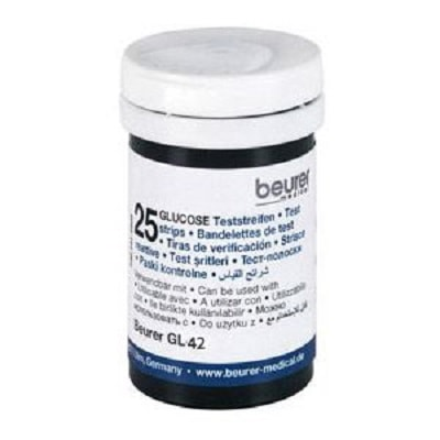Que thử đường huyết Beurer GL42 (Lọ 25 que)
