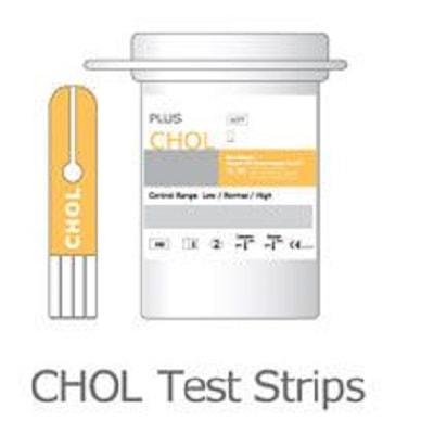 Que thử Cholesterol- phụ kiện của máy đo đường huyết Benecheck Plus (10 que)