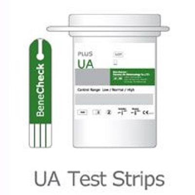Que thử Acid Uric - Phụ kiện máy đo đường huyết Benecheck Plus (25 que)