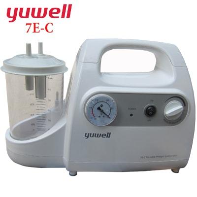 Máy hút dịch mũi họng  1 bình chạy bằng điện Yuwell 7E-C