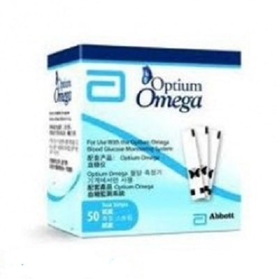 Que thử đường huyết Optium Omega
