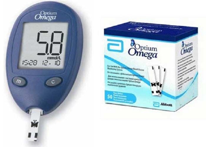 que-thu-duong-huyet-optium-omega-chinh-hang