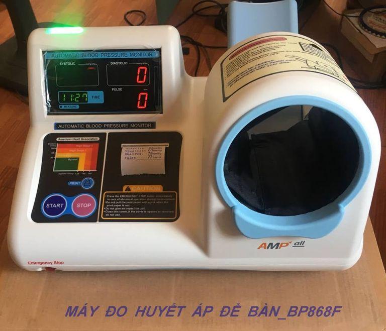 Máy đo huyết áp tự động để bàn Ampall BP868F