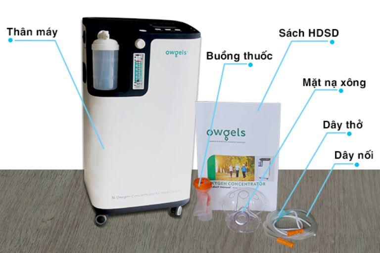 Máy tạo oxy Owgels OZ-5-01TW0