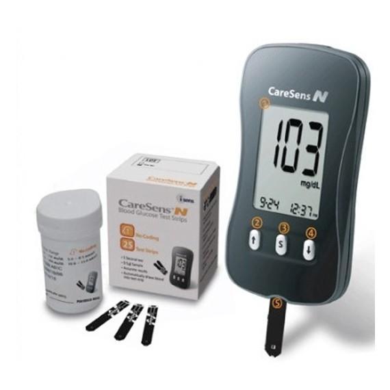 Giới thiệu máy đo đường huyết CareSens N