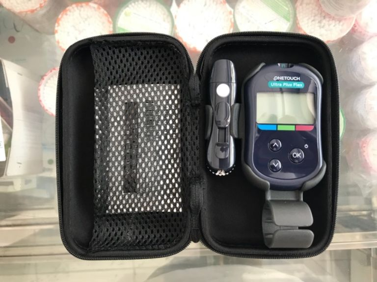 Phụ kiện của máy đo đường huyết Onetouch Ultra Plus