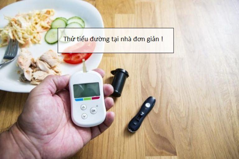 máy đo đường huyết ở nhà