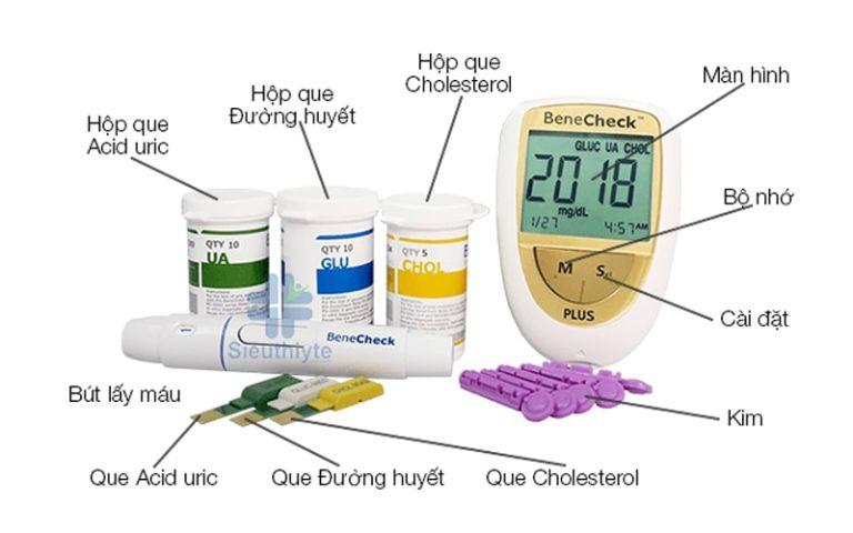 máy đo tiểu đường Benecheck Plus