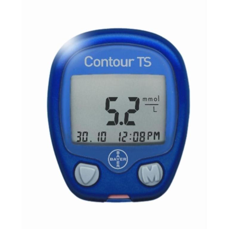 thiết bị đo đường huyết Bayer Contour TS.