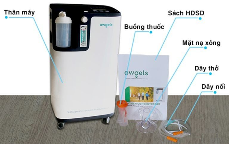 Máy thở Owgels OZ-5-01-TWO