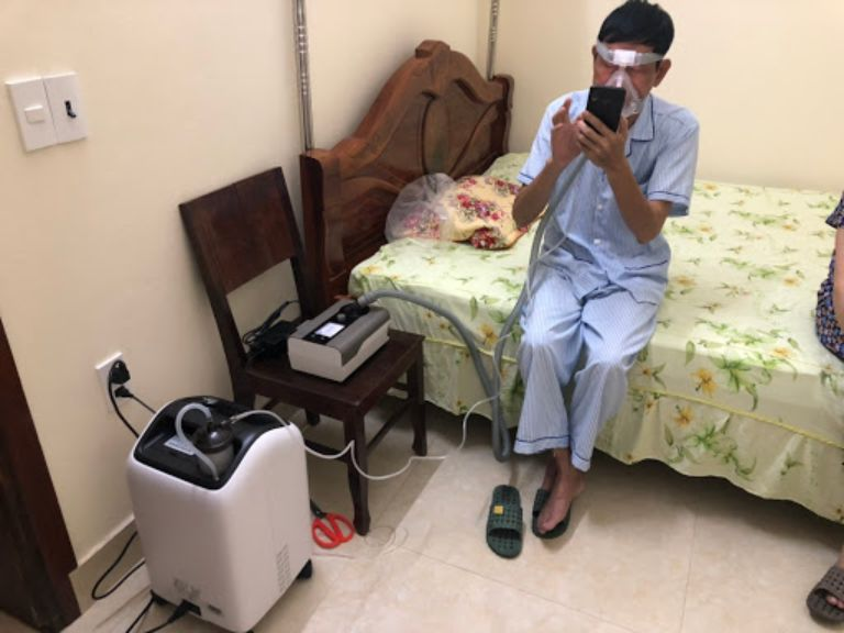 máy tạo oxy cho phòng ngủ