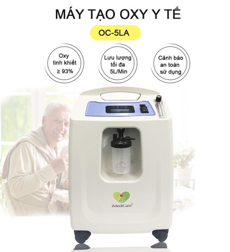 máy tạo oxy Imedicare OC - 5LH