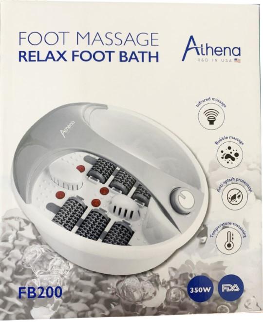 Bồn ngâm chân Athena FB200 thietbiytphuongmai