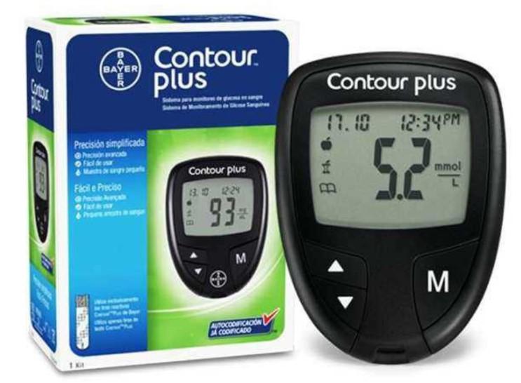 Máy đo đường huyết Contour Plus-thietbiytephuongmai