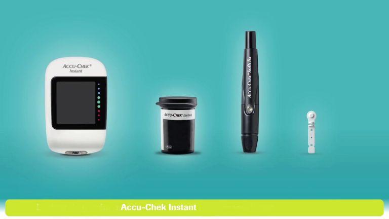 Công dụng của máy đo đường huyết Accu-Chek Instant