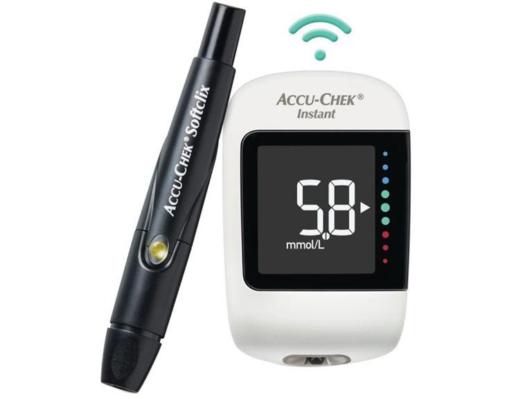 Máy đường huyết Accu-Chek Instant