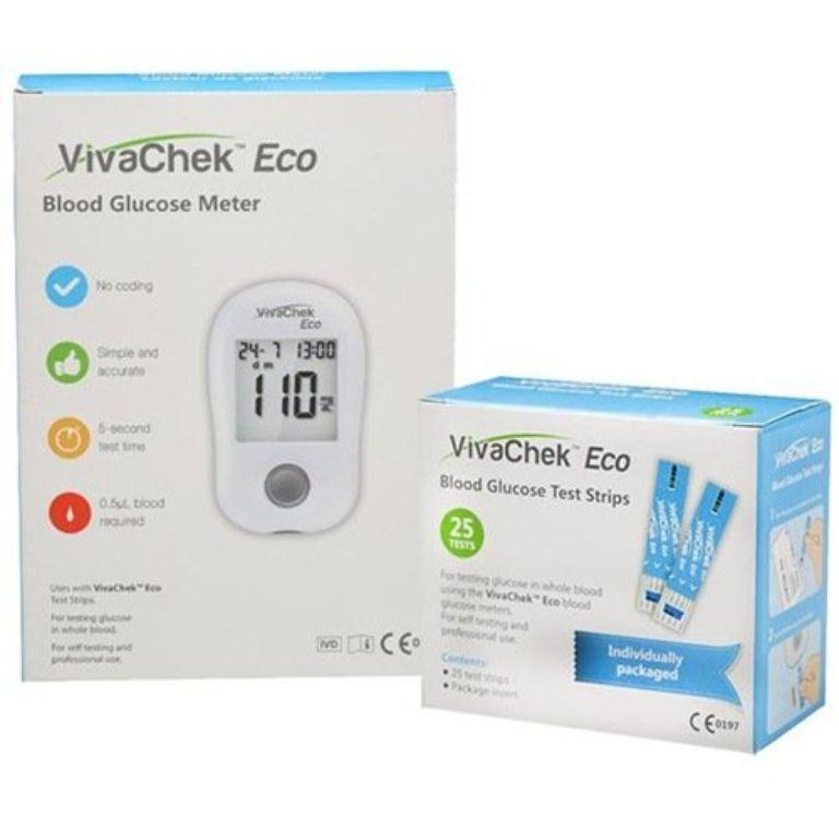 que thử đường huyết VivaChek Eco
