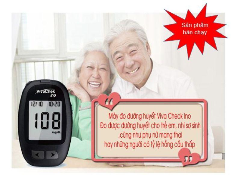 máy đo đường huyết Vivacehk Ino