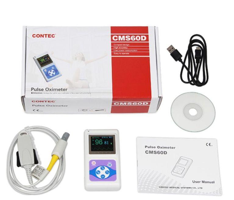 Công dụng Máy đo Spo2 và nhịp tim cho trẻ em Contec CMS60D