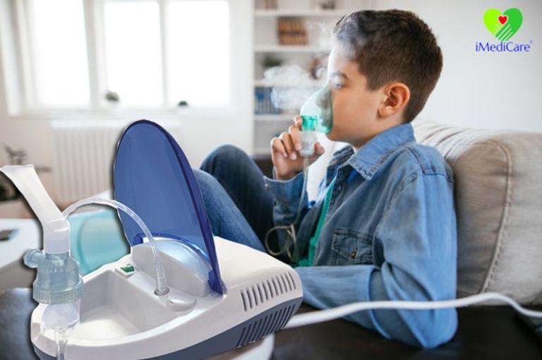 Những lưu ý khi sử dụng máy xông khí dung cho trẻ em