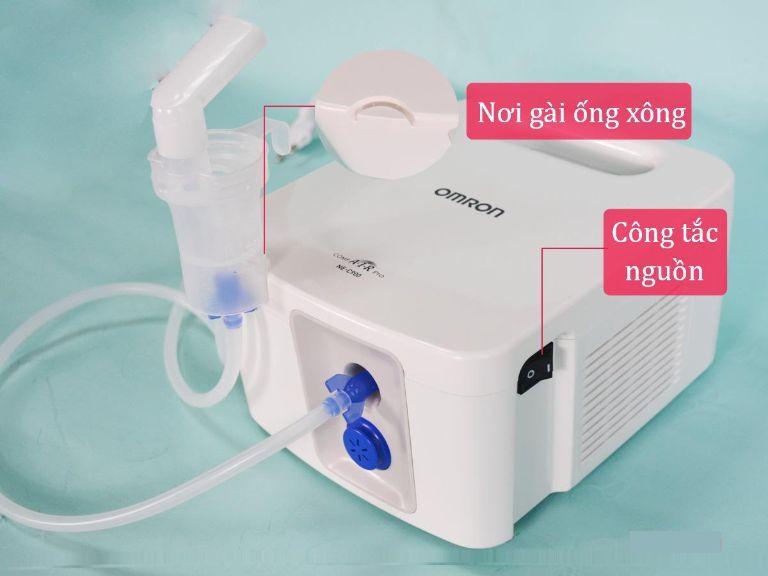 Hướng dẫn sử dụng máy xông khí dung Omron Ne-C900