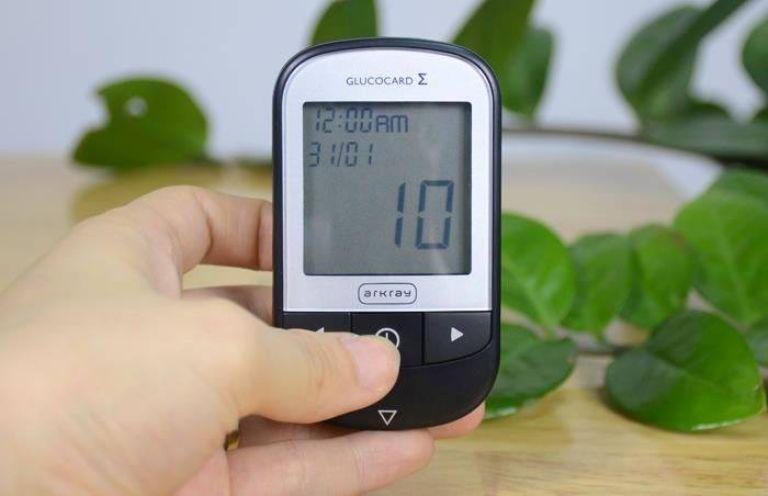 Máy đo đường huyết Arkray GlucoCard