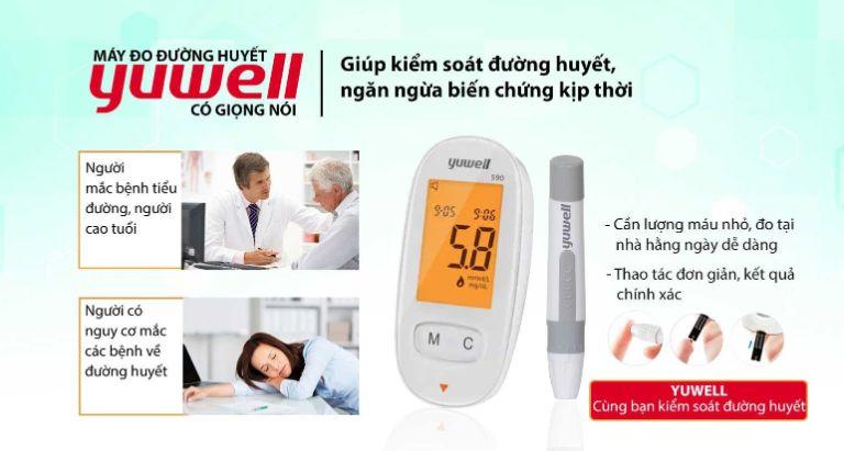 công dụng của máy yuwell 590