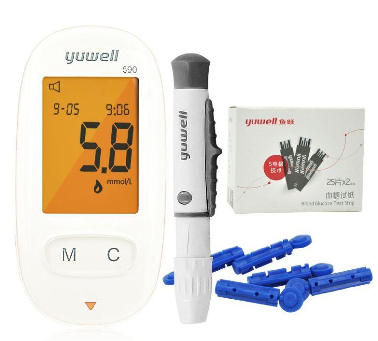 Công dụng của máy đo đường huyết 590