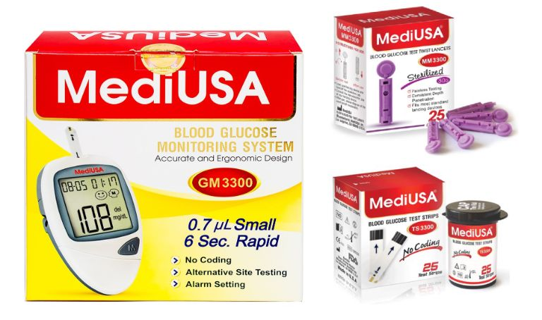 bộ phụ kiện máy MediUSA GM3300