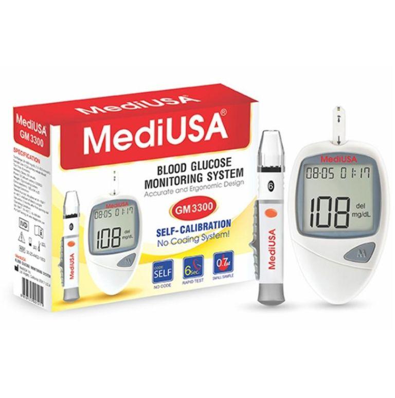 Máy đo đường huyết MediUSA GM3300 chính hãng