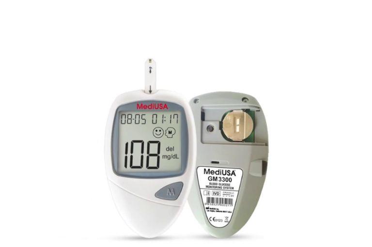 Tính năng của máy đo đường huyết MediUSA GM3300