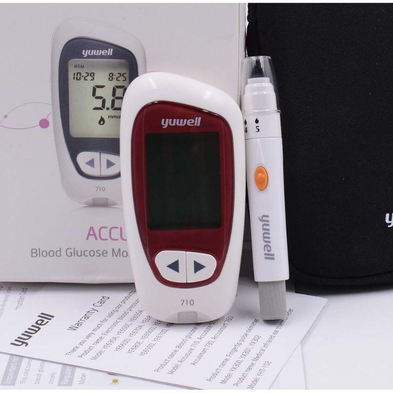 Công dụng của máy đo đường huyết Yuwell 710