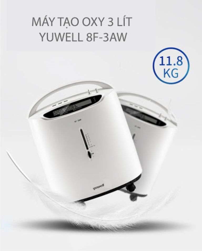Máy tạo oxy mini Yuwell