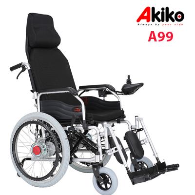 Xe lăn điện ngả nằm nhập khẩu Akiko A99