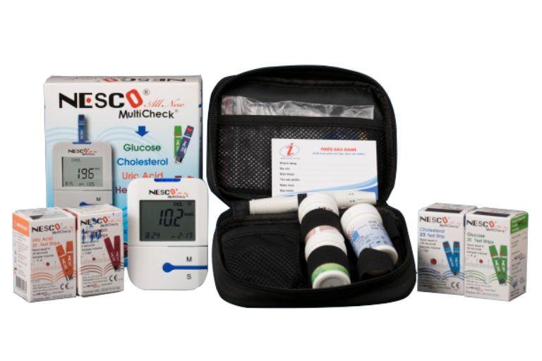 Máy đo đường huyết Nesco Multi Check All New