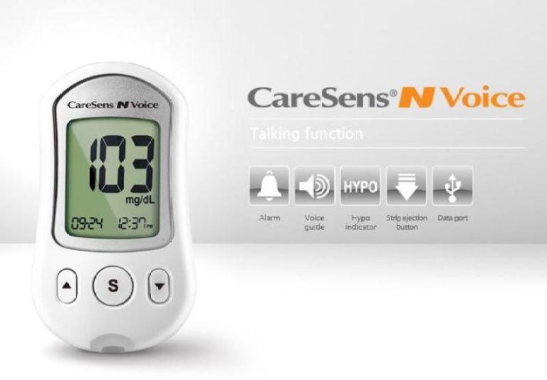 Máy đo đường huyết CareSens N Voice