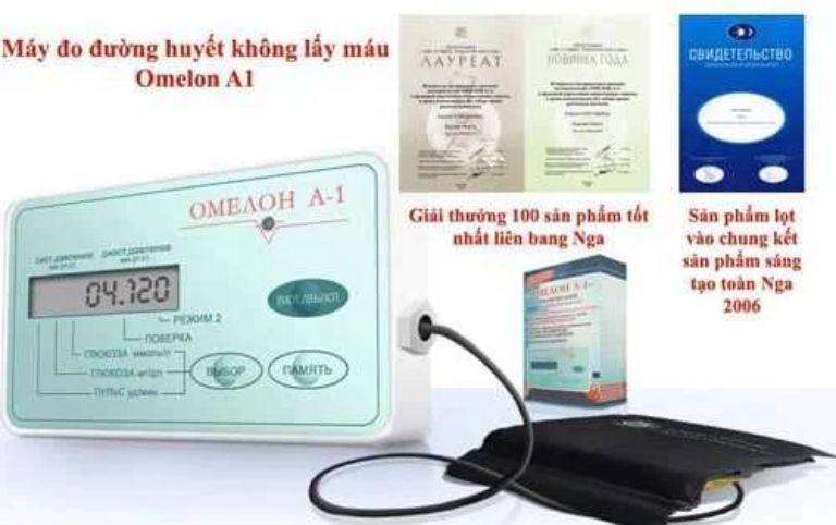 Máy đo đường huyết Omelon A1