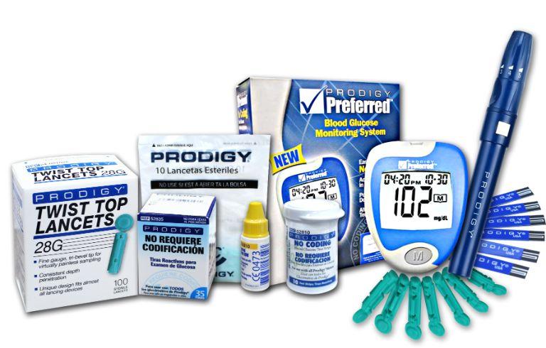 Giới thiệu về máy đo đường huyết Prodigy Preferred