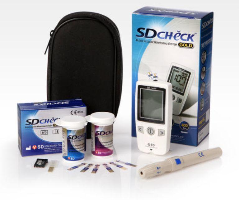 Giới thiệu về máy đo đường huyết SD Check Gold