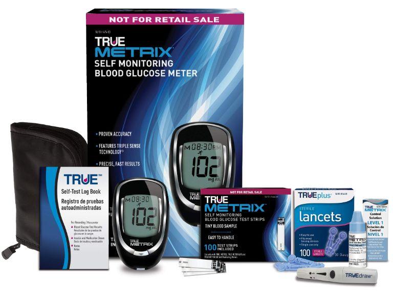 Giới thiệu về máy đo đường huyết True Metrix