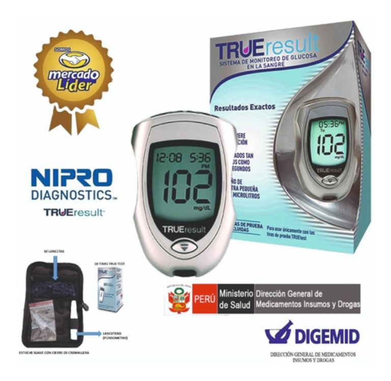 Máy đo đường huyết True Result