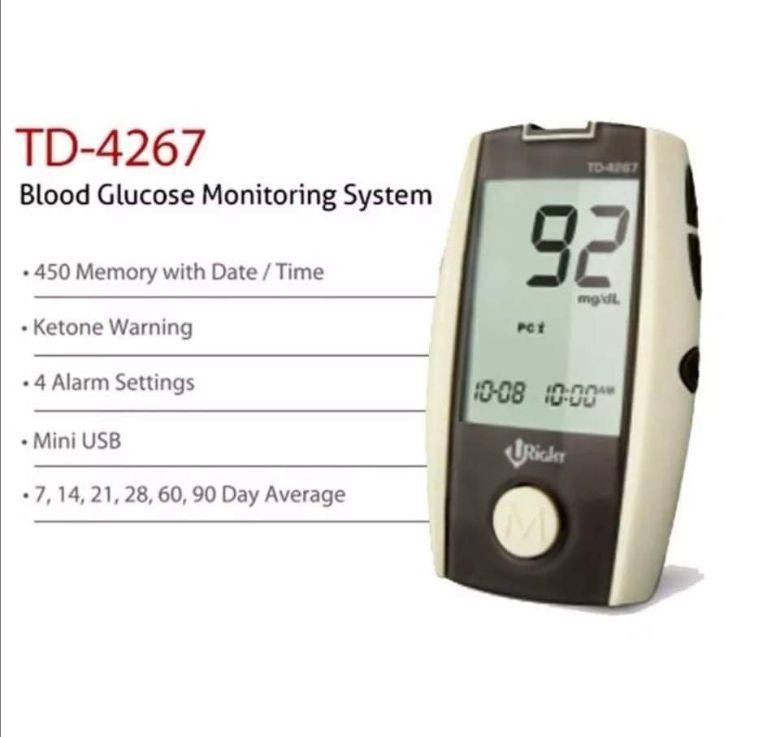 Công dụng của máy đo đường huyết Uright TD-4267