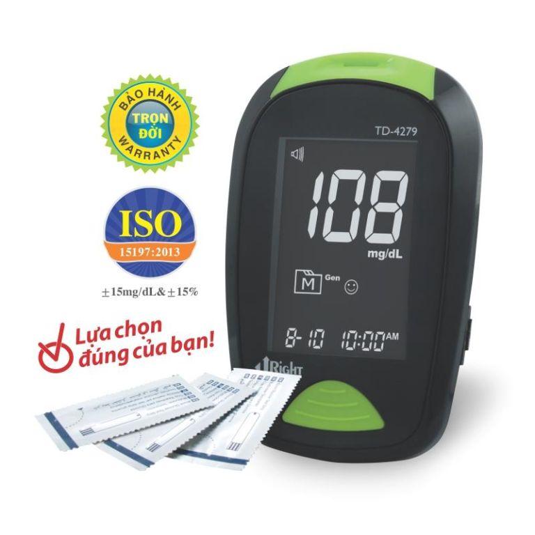Công dụng của máy đo đường huyết Uright TD-4279