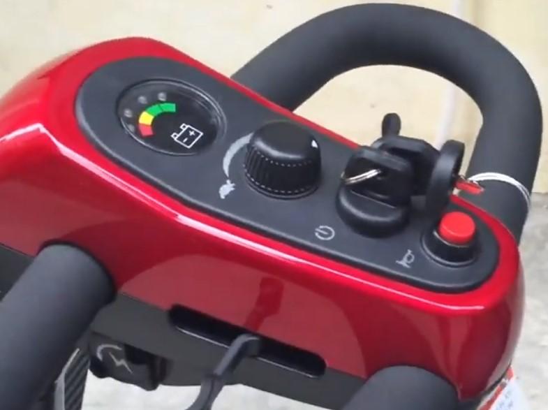 Bộ điều khiển xe lăn điện 4 bánh omega loại 2