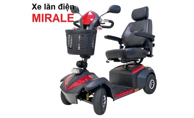 Xe lăn điện 4 bánh Miracle